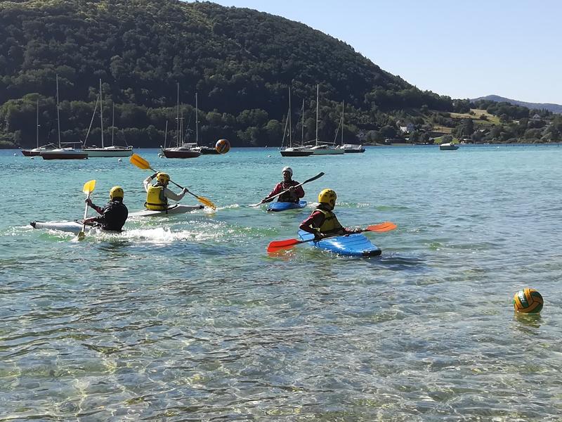 YCGC - Ecole de Pagaie Kayak polo ,lac de Paladru
