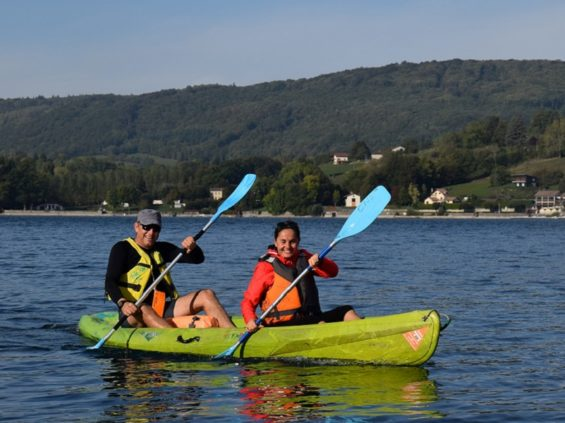location_canoe_kayak_lac_paladru_yacht_club